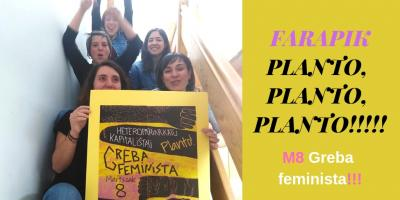 ON MARCH 8, WE WILL GO TO THE FEMINIST STRIKE